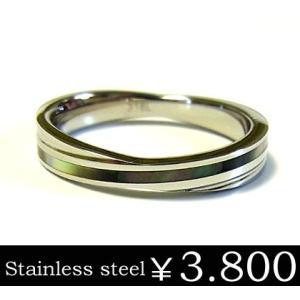 福袋対象商品 リング 指輪 メンズ ステンレス シェル ブラック 刻印 ユニセックス ペア ju8 半額 sale|juraice