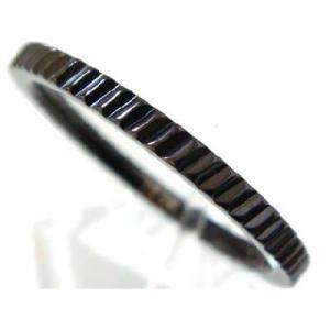 福袋対象商品 ステンレスリング ブラック バリエーション ステンレスアクセサリー 刻印 ju8 半額 sale|juraice