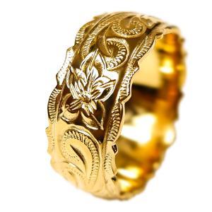 ハワイアンジュエリー リング 指輪 K14 ゴールドコーティング プルメリア スクロール ホヌ 記念日 誕生日 プレゼント ギフト|juraice