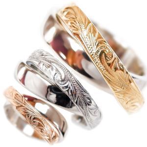 ハワイアンジュエリー 2連 リング 指輪 スクロール レディース メンズ プレゼント 金属アレルギー対応 サージカル ステンレス juraice