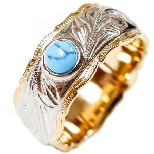 ハワイアンジュエリー リング 指輪 ターコイズ 石 メンズ レディース プレゼント ブランド 金属アレルギー対応 サージカル ステンレス|juraice