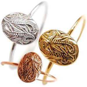 ハワイアンジュエリー リング 指輪 スクロール オーバル メンズ レディース プレゼント ブランド 金属アレルギー対応 サージカル ステンレス juraice