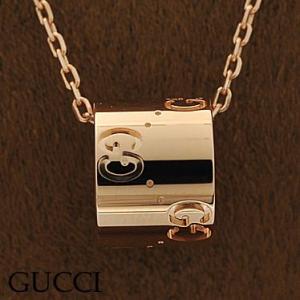 グッチ 153177-J8500/5702 ネックレス K18PG ピンクゴールド ペンダント GUCCI|juraice