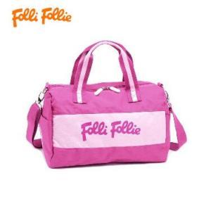 フォリフォリ HB13K010SF/FUC ピンク ボストンバックFolli Follie ショルダーバック|juraice