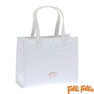 フォリフォリ HB1P019WW WHITE ホワイト 手提げバック Folli Follie ハンドバック|juraice