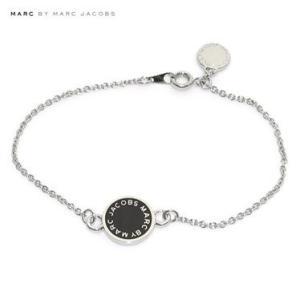 マークバイマークジェイコブス  クラシックマーク エナメル ディスク ブレスレット M3PE550-001 80001 Black Marc By Marc Jacobs|juraice