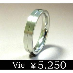 【vie】ラインステンレスリング/ヴィー/レディース/ギフト/シンプル/ユニセックス sale|juraice