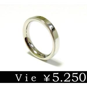 リング 指輪 ステンレスリング vie ヴィー シンプル メンズ レディース ユニセックス ペア sale|juraice