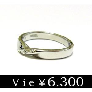 リング 指輪 石 ステンレスリング キュービックジルコニ vie ヴィー シンプル レディース ユニセックス ペア sale|juraice