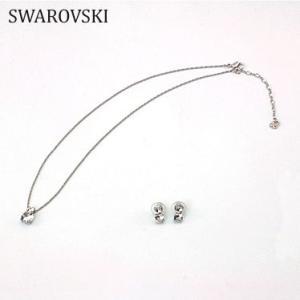 【ネックレス&ピアスセット】 スワロフスキー 1807339 ネックレス Swarovski SWAROVSKI|juraice