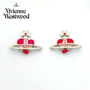 ヴィヴィアンウエストウッド DIAMANTE HEART STUD E/SS/PNK ピアス Vivienne Westwood|juraice