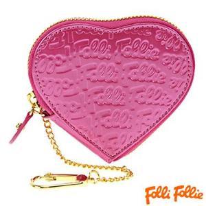 フォリフォリ WA0L035SP-ROSE PNK ピンク 小銭入れ 財布 サイフ Folli Follie|juraice
