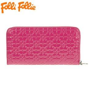 フォリフォリ WA13P038WDF/FUXIA 長札(ラウンドファスナー) 財布 サイフ Folli Follie|juraice