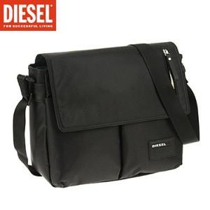 ディーゼル X02999-P0409/H1669 ブラック DIESEL ショルダーバック|juraice