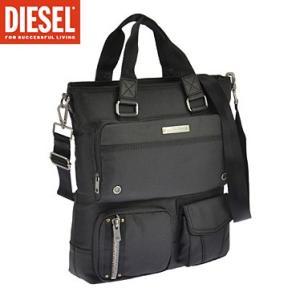ディーゼル X03780-P0881/H1669 ブラック DIESEL  手提げバック トートバック ショルダーバック|juraice