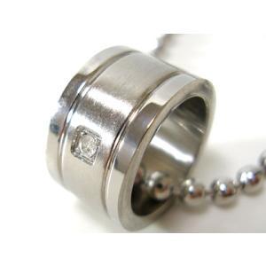 【SteelAdamas】ペアアダマスダイヤモンドネックレス/ダイヤモンド/天然/ファッション/アクセ/ブランド/ホワイト/白/ステンレス/アクセサリー/ 年度末 sale|juraice