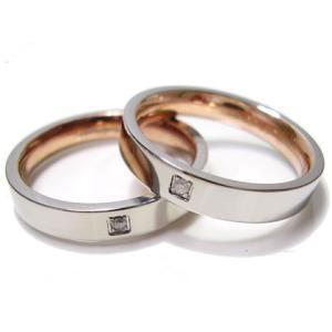 ペアリング ダイヤモンド 刻印 無料 ピンクゴールド 指輪 ステンレス ペア Adamas 年度末 sale|juraice