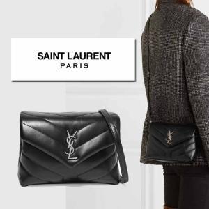 サンローラン Saint Laurent LOULOU TOY BAG ショルダーバッグ ブラック×シルバー|jurer-store
