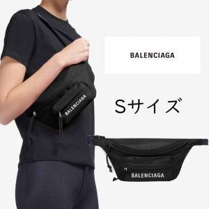 バレンシアガ BALENCIAGA  Wheel ウエストポーチ ベルトバッグ ブラック Sサイズ 569978HPG1X1090|jurer-store
