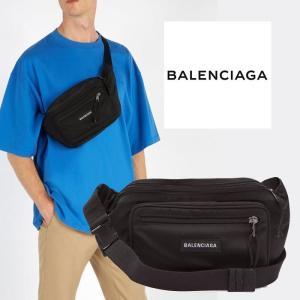 バレンシアガ BALENCIAGA  エクスプローラーベルトバッグ ブラック|jurer-store