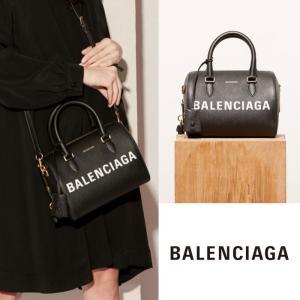 バレンシアガ BALENCIAGA ヴィル ショルダーバッグ Sサイズ Ville Bowling ブラック|jurer-store