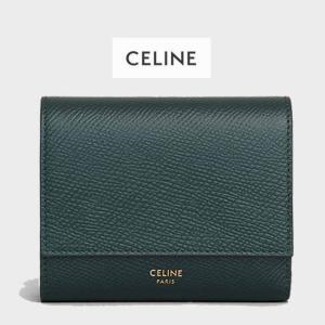 セリーヌ  CELINE スモール トリフォールドウォレット 三つ折り財布  参考:10B573BEL31AN アマゾン|jurer-store