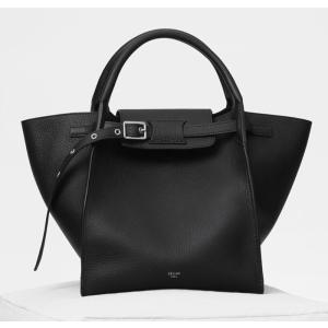 CELINE セリーヌ ビッグバッグ スモール サイズ ブラック/BLACK 183313A4U.38NO|jurer-store