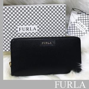 フルラ FURLA  財布 BABYLON ジップアラウンド ウォレット【ブラック】あすつく|jurer-store