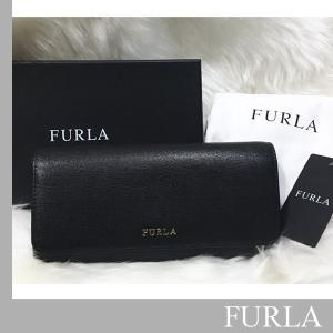 フルラ FURLA  財布 BABYLON コンチネンタルフラップ ウォレット【ブラック】黒【あすつく】|jurer-store