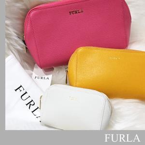 フルラ FURLA  ELECTRA  コスメポーチ 3点セット 化粧ポーチ 小物 収納 【ローズセット】【あすつく】|jurer-store