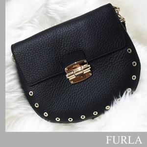 フルラ FURLA  CLUB SMALL BAG フルラ クラブ スモール バッグ ハンド ショルダーバッグ【ブラック】黒【あすつく】|jurer-store