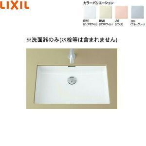 リクシル[LIXIL/INAX]はめ込み角形洗面器[アンダーカウンター式]L-2250【送料無料】|jusetsu-shop