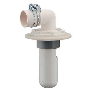 カクダイ[KAKUDAI]洗濯機用VP・VU兼用排水トラップ(カバーつき)[品番:426-021-5...