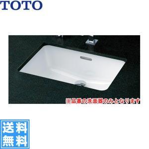 [L505]TOTOカウンター式洗面器[アンダーカウンター式][洗面器のみ]【送料無料】|jusetsu-shop