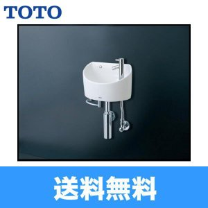TOTO壁掛手洗器[丸形][立水栓・壁給水・床排水]LSH90BASN【送料無料】 jusetsu-shop