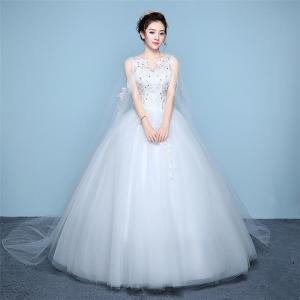3bf44ca4d6815 ウエディングドレス 安い 激安 aライン 白 格安 袖あり 編み上げ レース 花嫁 結婚式 パーティードレス 二次会 ロングドレス イブニングドレス  安い