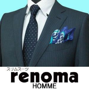 春夏 / レノマ オム renoma homme / 2ボタンスーツ / 紺 / A ・ AB|justman