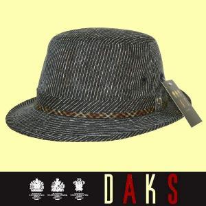 春夏 / ダックス DAKS / アルペン帽子 / 紺 / 日本製 / SS|justman