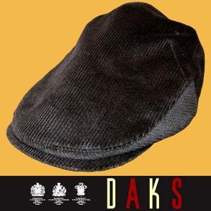 秋冬 / ダックス コーデュロイ ハンチング帽子 / 濃グレー(チャコールグレー) / 日本製|justman