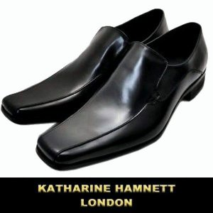 キャサリン ハムネット / KATHARINE HAMNETT ビジネスシューズ / 黒(ブラック)|justman