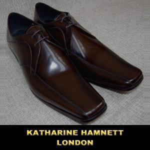 キャサリン ハムネット / KATHARINE HAMNETT ビジネスシューズ / 濃茶(ダークブラウン)|justman