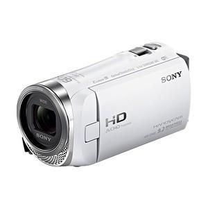 【新品・即納】ソニー デジタルHDビデオカメラレコーダー HDR-CX485 WC ホワイト justme