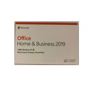 Microsoft Office Home and Business 2019 OEM版 1台のWindows PC用