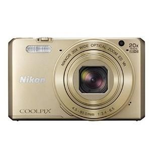 【新品・即納】Nikon デジタルカメラ COOLPIX S7000 20倍ズーム 1605万画素 ゴールド S7000GL justme