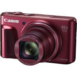 【新品・即納】デジカメ CANON PowerShot SX720HS(レッド) justme