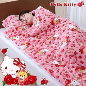 毛布 防寒 寝袋 布団 秋冬 キティグッズ キティちゃん あったか ハローキティすっぽり毛布|justpartner