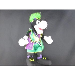 ディズニー グーフィー ぬいぐるみバッジ 緑服 2012年 全長約20センチ justy-net