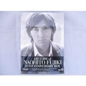 良品 タレント CD 藤木直人 HISTORY of NAOHITO FUJIKI 10TH ANNIVERSARY BOX|justy-net
