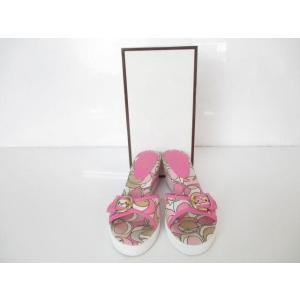 同梱可 コーチ COACH 靴 サンダル ミュール マルチカラー シグネチャー 6B ピンク レディース|justy-net