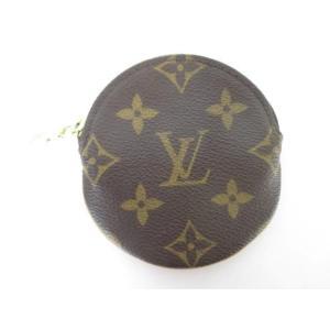 ルイヴィトン LOUIS VUITTON 服飾小物 モノグラム ポルトモネロン M61926 コインケース 丸型 小銭入れ 財布 justy-net
